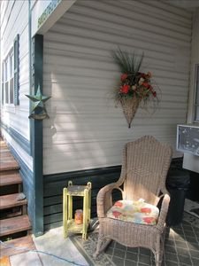 Porch leading into Sunroom