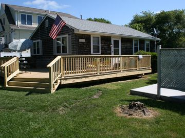Exterior Photo...Brand New HUGE Deck, Kick Back and Relax!