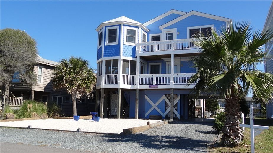 coastal north carolina holiday house canal home with holden beach north carolina house rentals