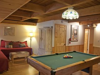 Breckenridge house photo - Lower level pool room with TV and two (2) daybeds