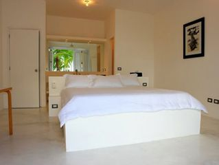 Las Terrenas villa photo - Bedroom with air conditioning