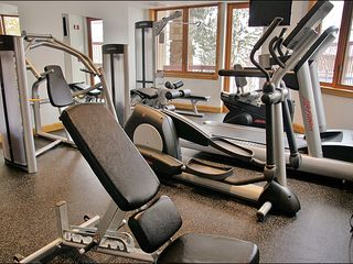 Steamboat Springs condo photo - Full Fitness Center with HDTVs, Free Weights