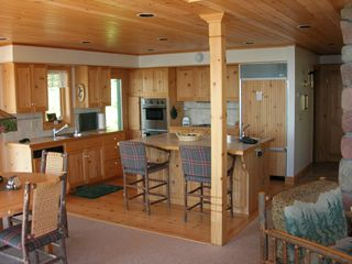 Lutsen house photo - kitchen