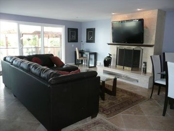 Marina del Rey house rental - Living Room