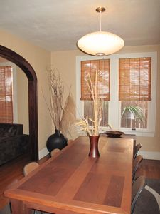 Dining Room Table - Comfortably seats 6-8 Guests