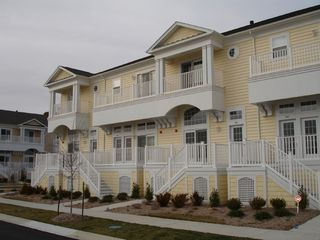 Vacation Homes in Ocean City townhome photo - Exterior and Balcony