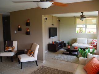 Aguadilla apartment photo - View of Living Room with Family Room w/ Full A/C! Now with Wii and Ipod Dock!