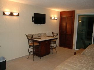 Cancun condo photo - Closet and bistro table
