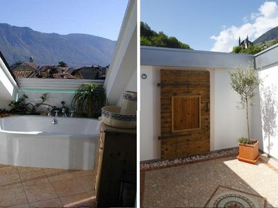 Private apartment over the roofs of Lana near Meran (South Tyrol) - Apartment Blue