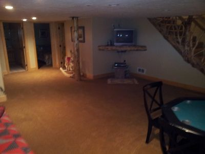 Downstairs Living Area/Game Room