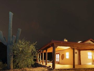 Apache Junction house rental - This is one of five porches/verandas attached to the home.