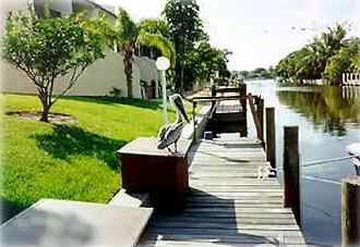 Great dockside location... with direct access to bay & gulf