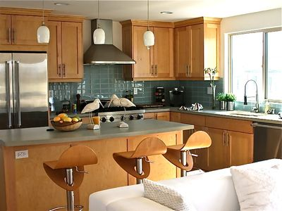 Mission Beach condo rental - All new beautifully designed kitchen
