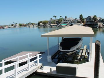 Discovery Bay house rental - Private Boat Dock