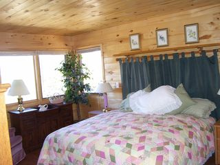 Salida house photo - King size master bedroom - wiith king size views!
