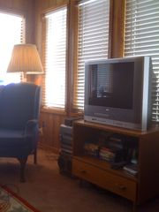 Black Hawk cabin photo - Second TV in Den.