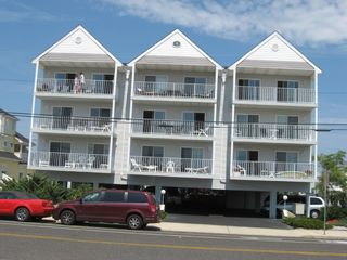 Our Building - Unit 14 Top Floor Center - Brigantine condo vacation rental photo