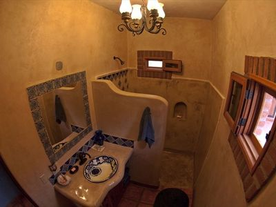 Casita Pepita Bathroom and shower