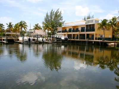 Key Largo condo rental - The unit from across the waterway