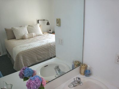 Luxury King Master Bedroom at Assateague Area Spinnaker Waterfront Vacation