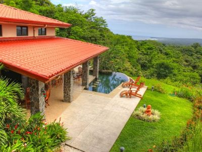 Your view looking out from Casa Vista Hermosa... privacy on three sides.