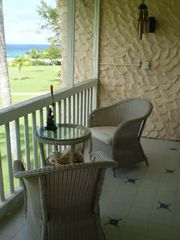 St. Croix condo photo - Screened Porch Overlooking the Beach