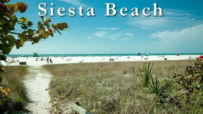 Sarasota condo rental - Beach entrance