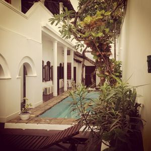 image for luxury villa, inside Galle Fort, swimming pool.
