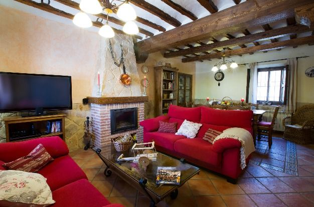 Self catering La Posada de Garcinarro for 10 people