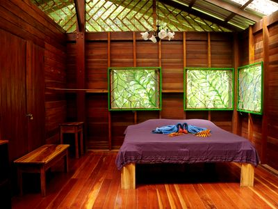 The Long House of Congo-Bongo Beach and Nature House Rentals