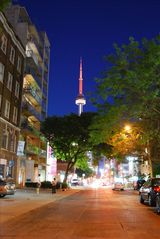Toronto condo photo - Steps from 24 hour-transit, taxis, restaurants, shops & bars