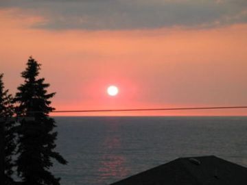 Enjoy Sunsets Like This from the Family Room or Deck
