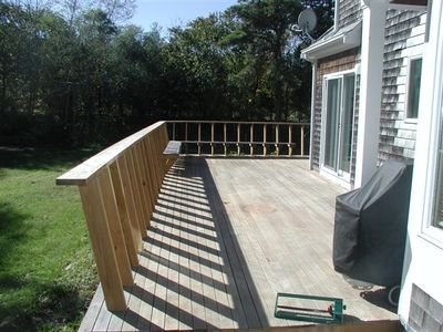 Exterior - Main Deck and Backyard