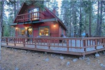 Carnelian Bay house rental - Exterior with large deck