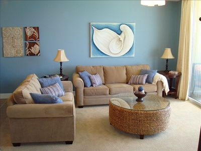 Family Room with Gulf View