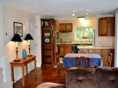 Provincetown condo rental - Open-concept kitchen and dining area.