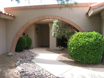 Oro Valley house rental - Front entrance from N Sun City Blvd.