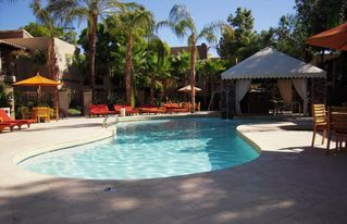 Scottsdale condo photo - Beautiful heated main pool and hot tub