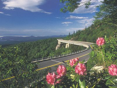 Blue Ridge Parkway in early summer