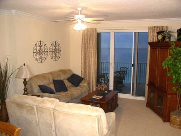 Ocean Villa Resort condo rental - Recline and Relax to the Gulf View