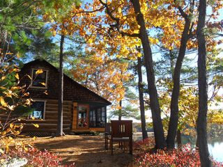 Thousand Islands cabin photo - Leaf peeper season