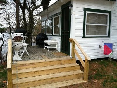 Cottage Deck and Stairs