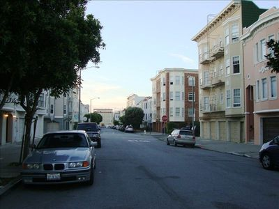 Street View looking North toward SF Bay 4 blocks away