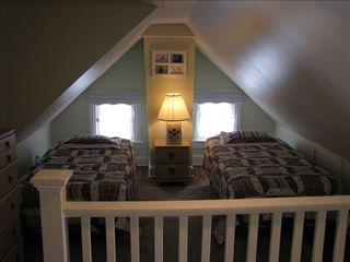 Cape May house photo - 3rd floor loft style bedroom w/2 single beds