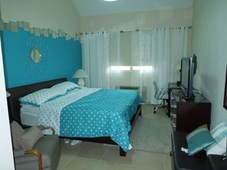 Aguadilla condo photo - Master Bedroom- King size bed, 48 inch TV/cable, desk