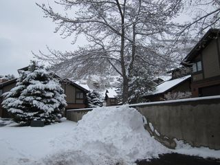 "Cottonwood Heights condo photo - Feb 2012 after one of our major snow ""dumps""!"