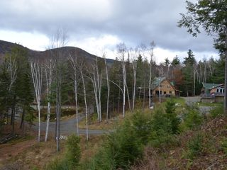 Lake Placid lodge photo - ADKVIEWS.com grounds w Big Crow Mt