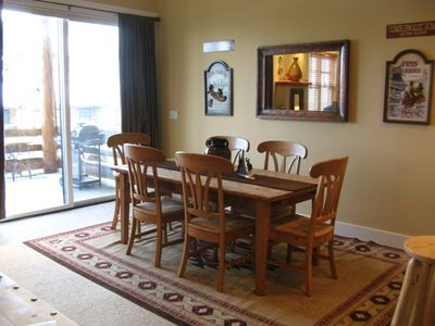 Dining Area Open to Great Room, Kitchen, Views & Breakfast Bar.