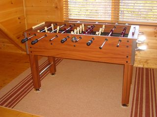 Pigeon Forge cabin photo - Foos Ball