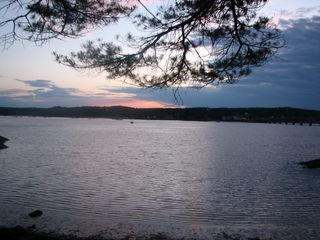 Wiscasset cottage photo - View in the evening...